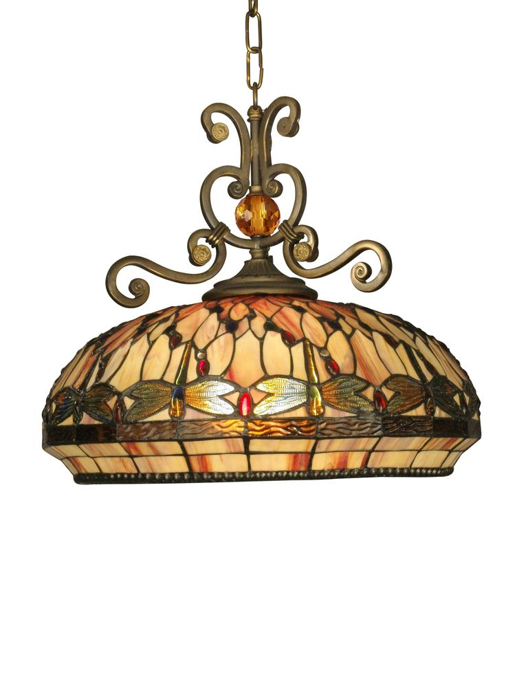 South Shore Decorating: Dale Tiffany TH10097 Dragonfly Tiffany Pendant Light DT-TH10097