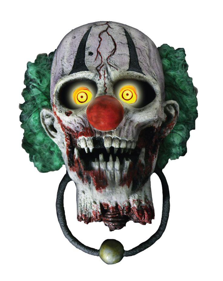 bonkers the clown door knocker decoration spirit halloween