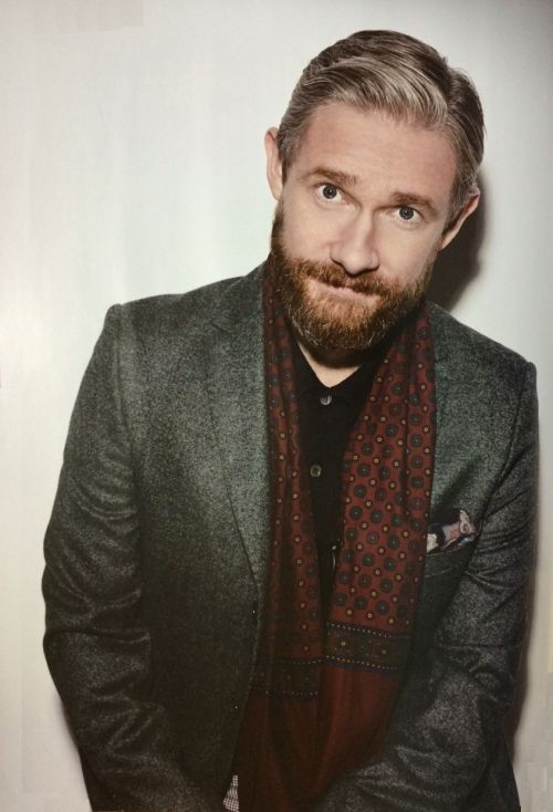 "Martin Freeman by Sarah Dunn from Japanese magazine ""FLIX"" (Release Date: December 20, 2014)"
