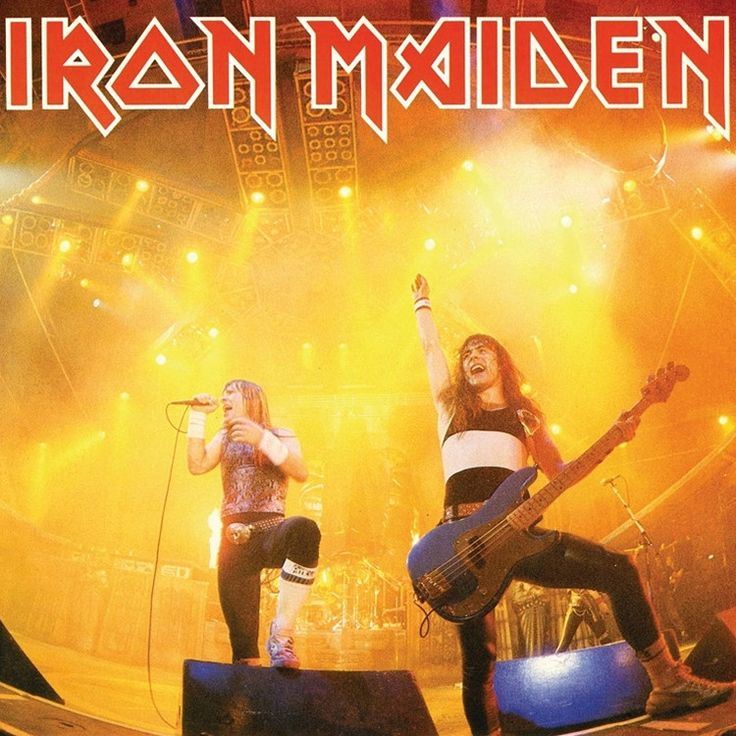 """Iron Maiden - Running Free (Live) on Limited Edition 7"""""""
