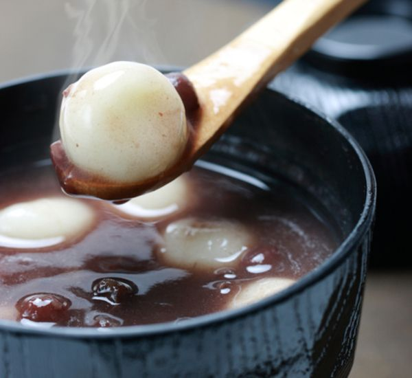 Sweet Red Bean Soup With Mochi (Shiratama Zenzai)