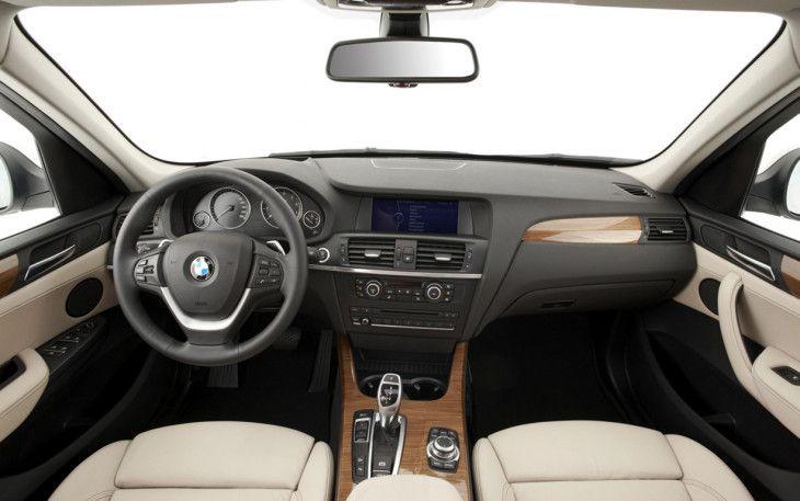 2016 BMW X3 interior