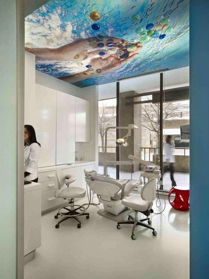 остальных картинки у стоматолога на потолке что травма скажется