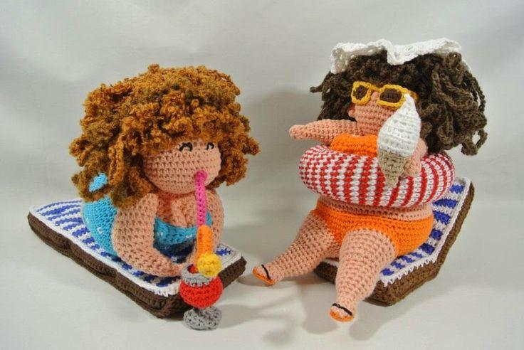 Haakpret: Het boek Dikke Dames haken is voltooid ligt bij de...