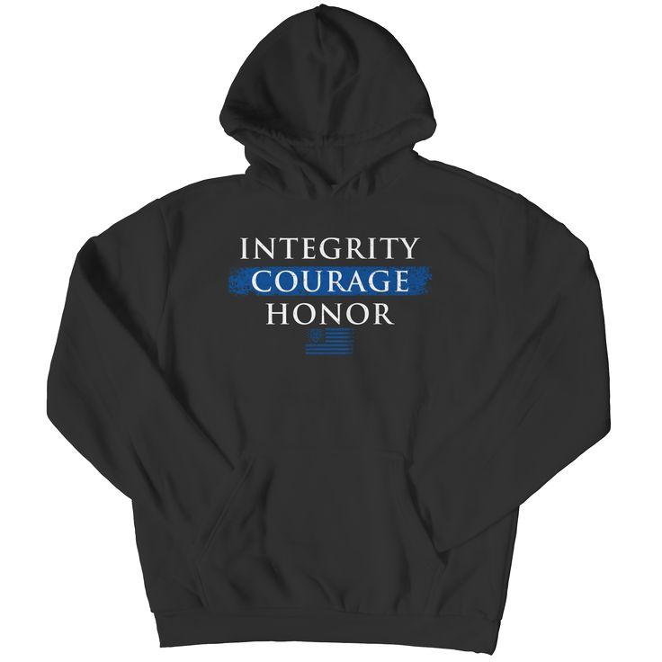 Integrity Courage Honor- Hoodie