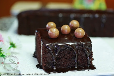 HomeKreation - Kitchen Corner: Kek Kukus Koko Horlicks (Steamed Horlicks Chocolate Cake)