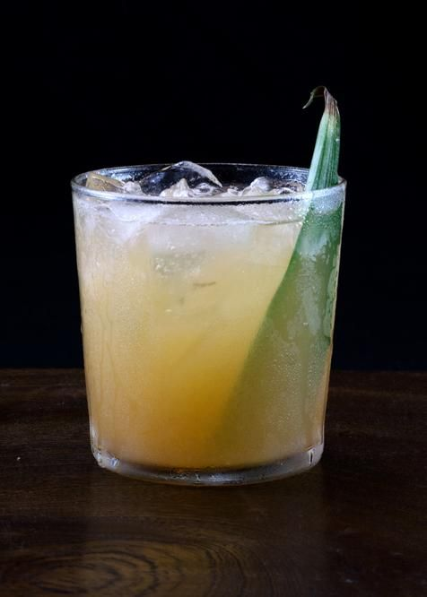 Mariners Ghost | Tuxedo no.2 | rum, more rum, mango puree, grapefruit, dram, lime, simple syrup
