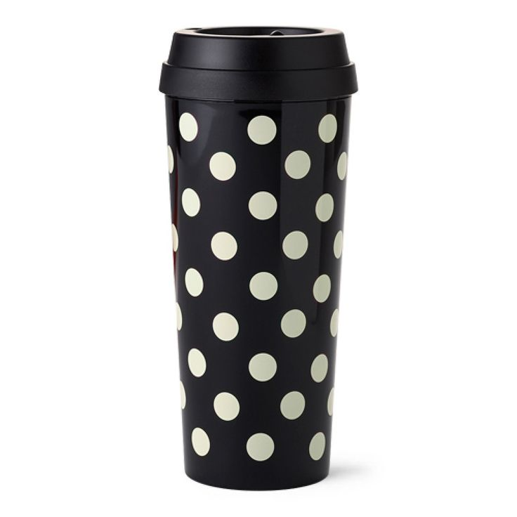 Kate Spade New York® Le Pavilion Thermal Mug | This stylish thermal mug is ideal for hot or iced drinks! This makes a great Valentine's gift idea.