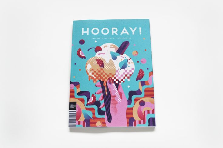 HOORAY! magazine Issue 9   Illustrated by We Buy Your Kids