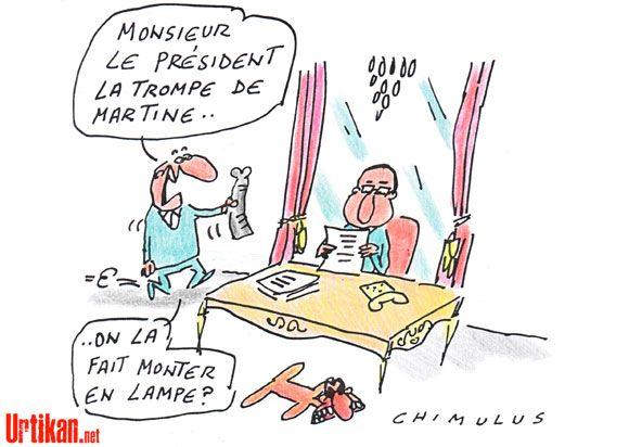 Martine Aubry ne fait pas partie du gouvernement, la droite se gausse