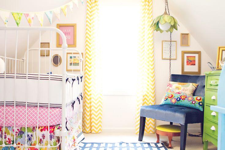 nursery color palette - fabulousness!