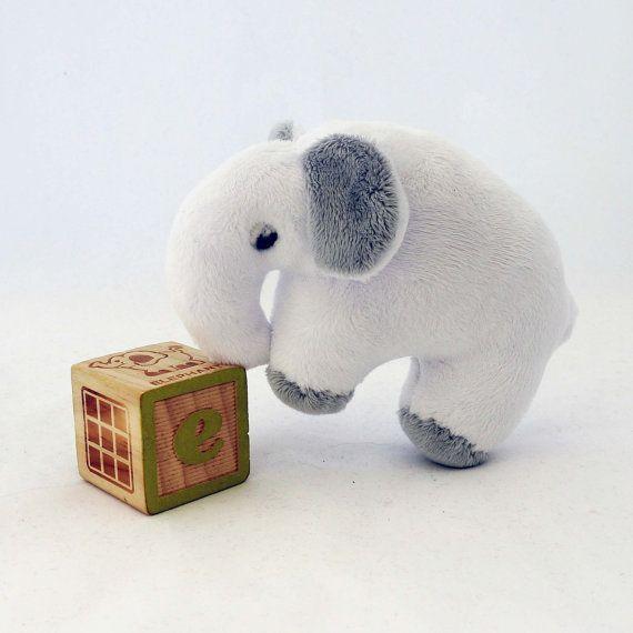 Elephant rattle by XclusivelyHandmade on Etsy