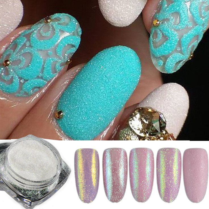 Aliexpress.com : Buy 5pcs/set Holographic Nail Glitter Powder Shining Sugar Nail Glitter Dust Powder Nail Art Decorations Set DIY BETY01 05 from Reliable powder shine suppliers on you are beautiful-Cosmetic 512239