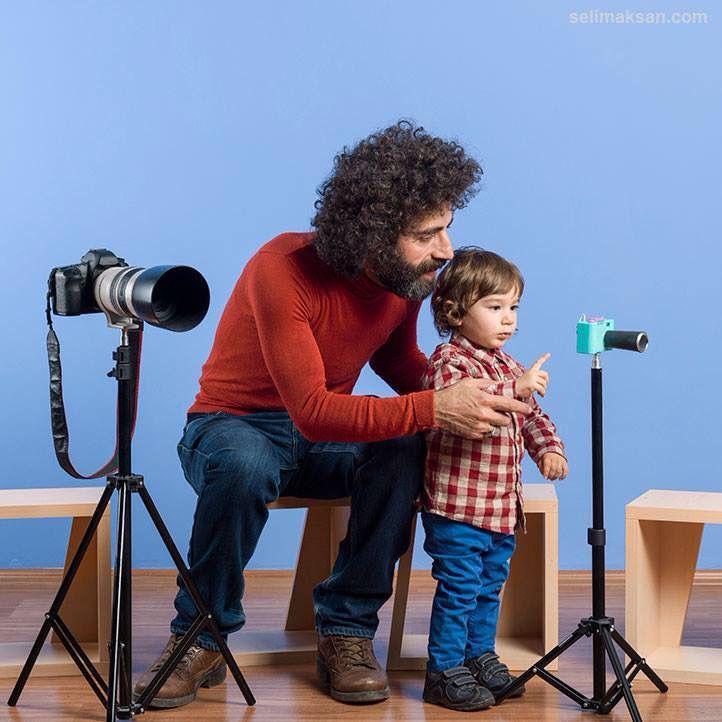 #Father#fatherandson#son#photgraphy#lesson#camera#