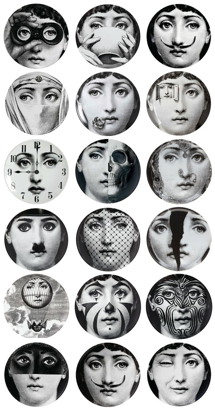 "Fornasetti - as mentioned - NOT strictly speaking ""contemporary"" but I've bent…"