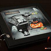 """Канцелярские товары ручной работы. Ярмарка Мастеров - ручная работа Фотоальбом """"Хэллоуин"""" (Halloween). Handmade."""