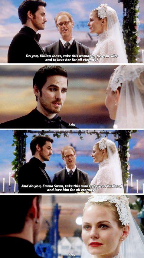 The Musical Episode 6-20 Emma and Killian's Wedding