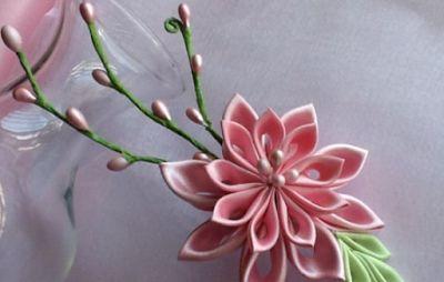 НАША СТРАНА МАСТЕРОВ: Цветы в технике канзаши