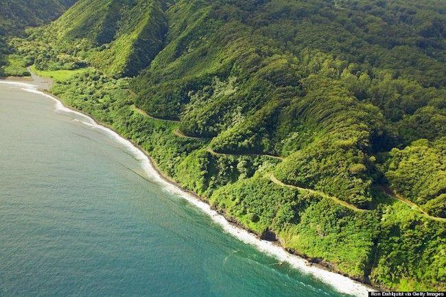 Estrada para Hana, Maui - Hawaii