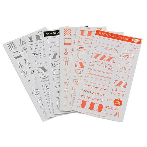 6-Sheets-Paper-Sticker-DIY-Photo-Album-Scrapbook-Calendar-Diary-Planner-Decor