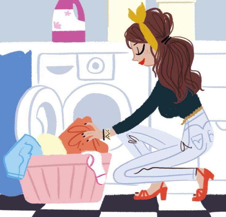 Avoir la classe MÊME quand tu fais ta lessive.
