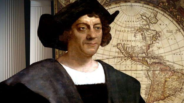 in 1492 kwam Columbus terug naar Spanje, hij had allerlei dieren, planten maar ook Indianen mee terug genomen