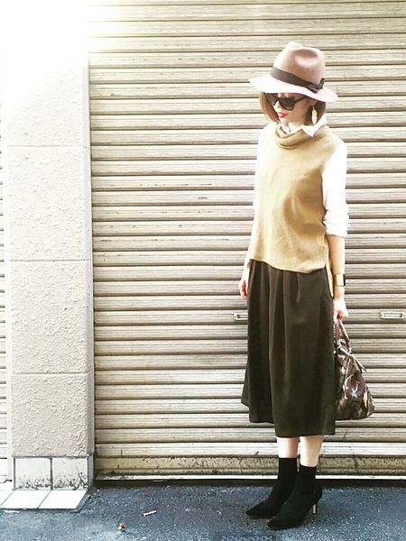 もっとレディに大人っぽく、4つのガウチョパンツで始める秋ファッション MERY [メリー]