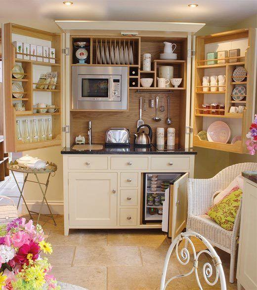 small kitchen-vintage