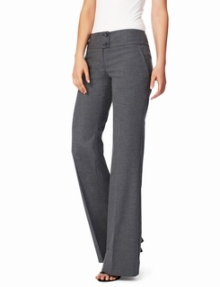 Perfect Fashion Casual Ladies Pencil Pants Women Trousers For Work Wear Gray
