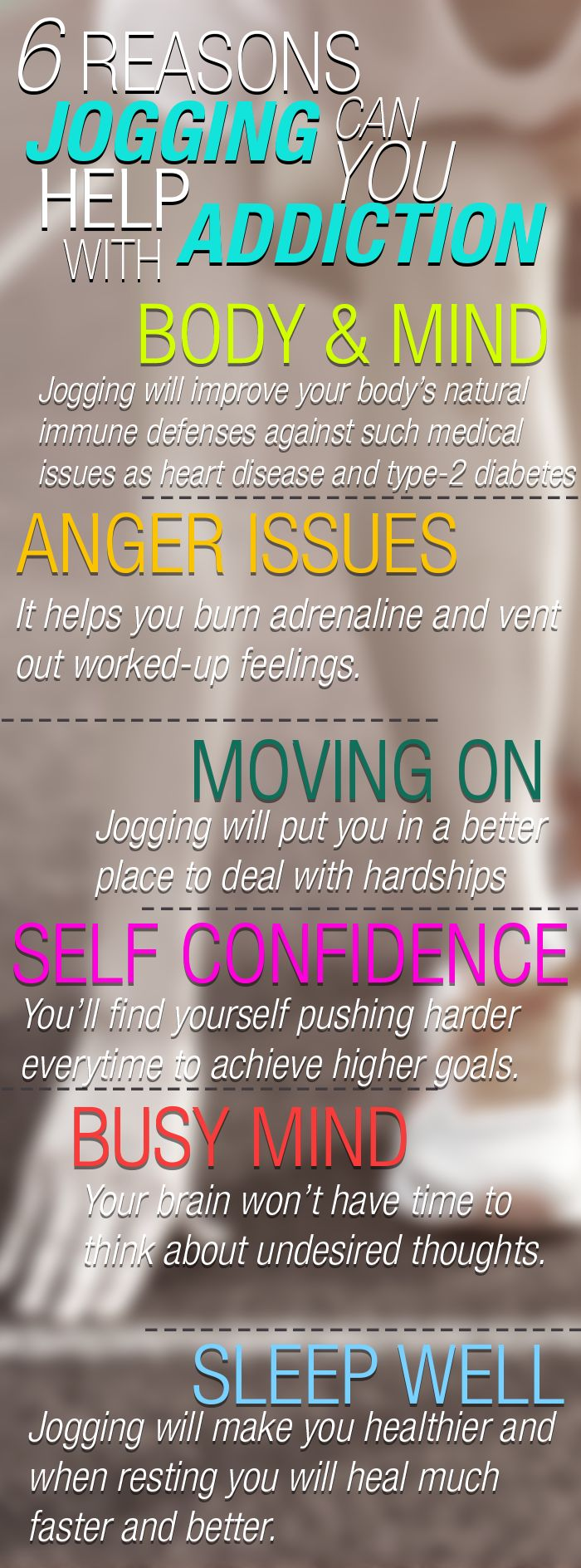 6 Reasons Jogging Can Help You With Addiction
