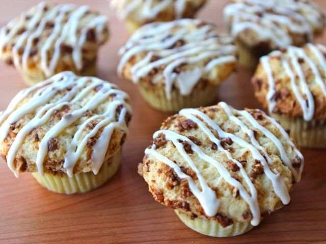 Coffee Cake Cupcakes ~ I just made these this morning and they are wonderful. Perfect little sized coffee cakes for your morning joe.