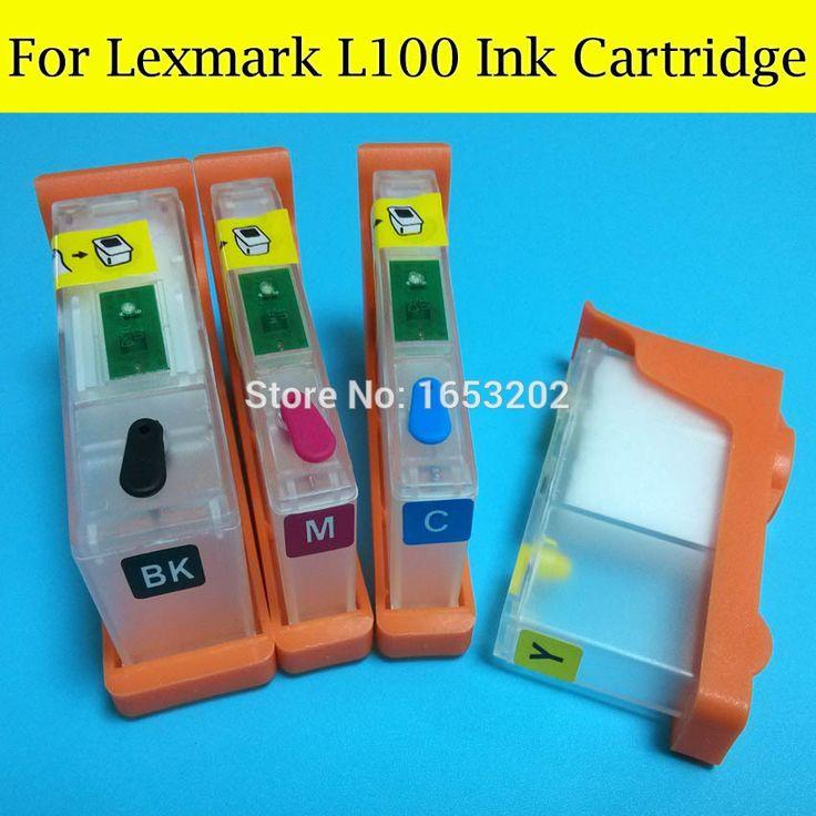 Купить товарНовый горячий! Заправка картриджа для Lexmark L100XL с чипами использования для Lexmark Pro205 Pro209 Pro208 Pro705 Pro805 принтеры / плоттера в категории Картриджи с черниламина AliExpress.             Добро пожаловать в наш магазин, имеют хороший день                      Новая горячая!!  Заправка черн