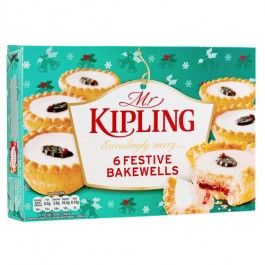 This Christmas we have a dazzling range of festive cakes these Mr Kipling Festive Bakewells are a great treat after your Christmas Dinner.
