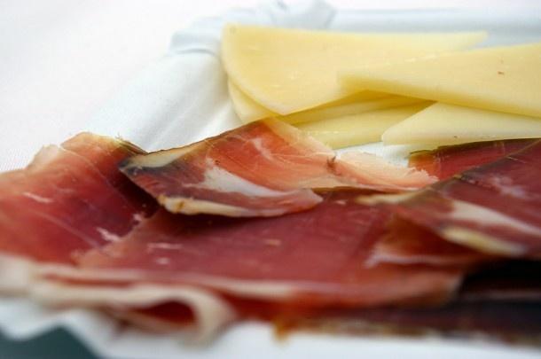 Prsut Ham and Island Pag Cheese - match made in heaven! #ham #prsut #croatia