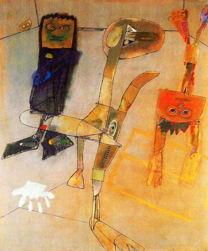 ALFONSO FRAILE. Adolescentes y una mano. 1977.