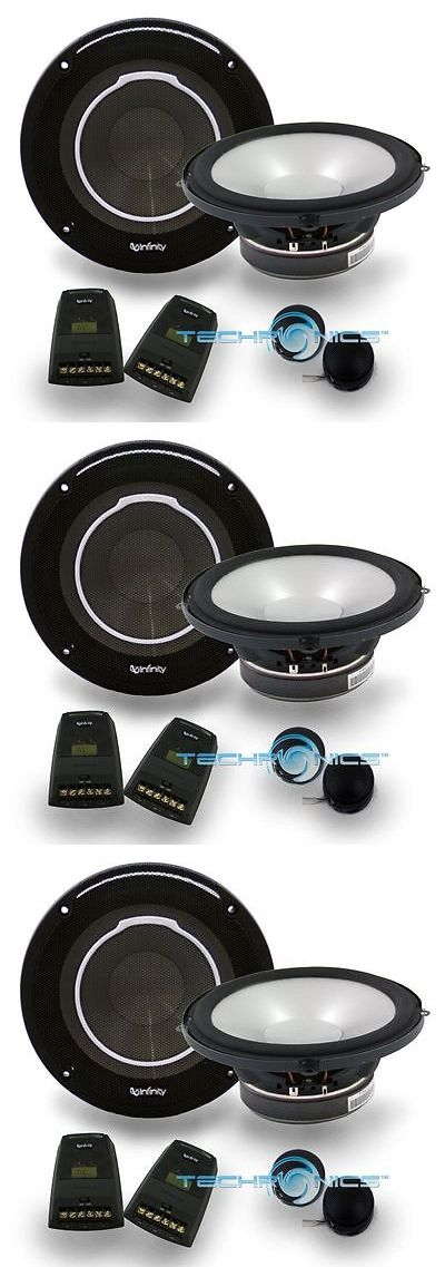 Car Speakers and Speaker Systems: Infinity 6030Cs 6-1/2 2-Way Reference Series 6.5 Component Car Speakers System BUY IT NOW ONLY: $89.95