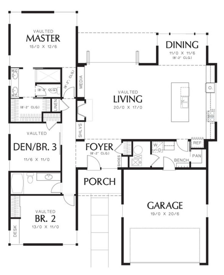 129 best House Plans-small, energy efficient, affordable images on - design homes floor plans