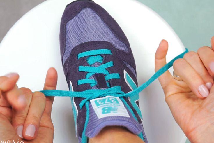 Sa technique pour lacer ses chaussures fait le tour du net!! L'avez-vous vu!?