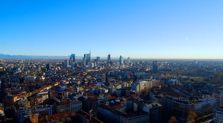 Milano from above. #Milan #skyline