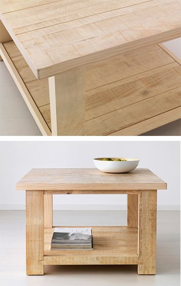 IKEA Fan Favorite: REKARNE coffee table. This solid pine fan fave can be treated over and over again to spruce up your decor through the years.