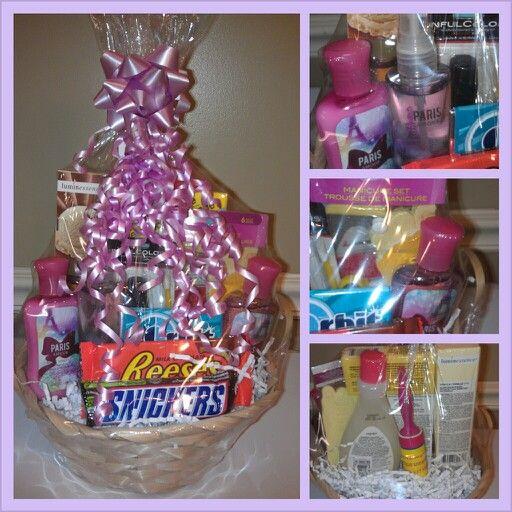 Diy Gift Basket Ideas For Mom: 17 Best Gift Baskets Images On Pinterest