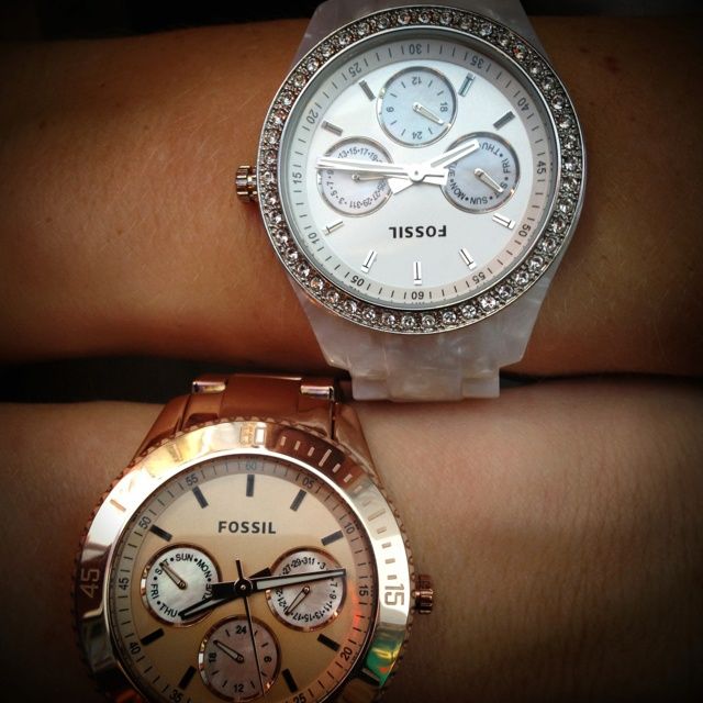 Rose gold and mother of pearl <3
