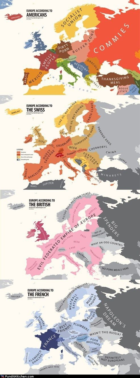 European Geography 101 :D
