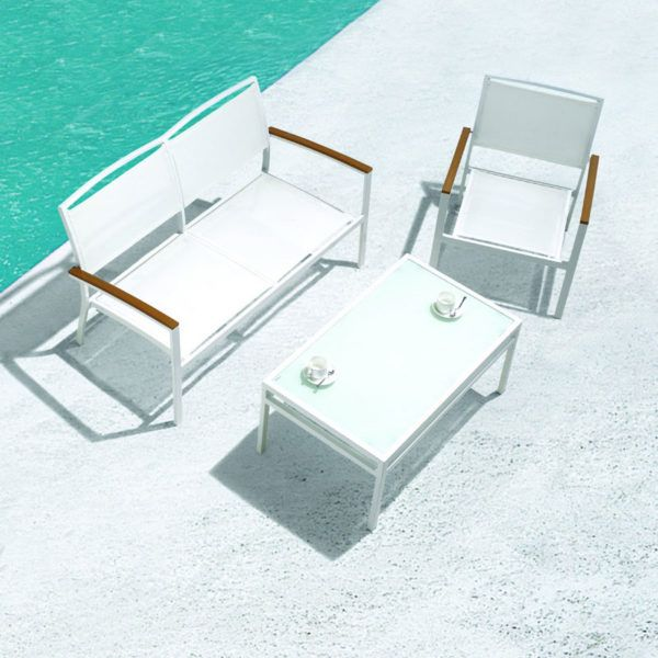 Mediterranean Outdoor Lounge Suite. This set is stylish, comfortable and is of absolute quality.
