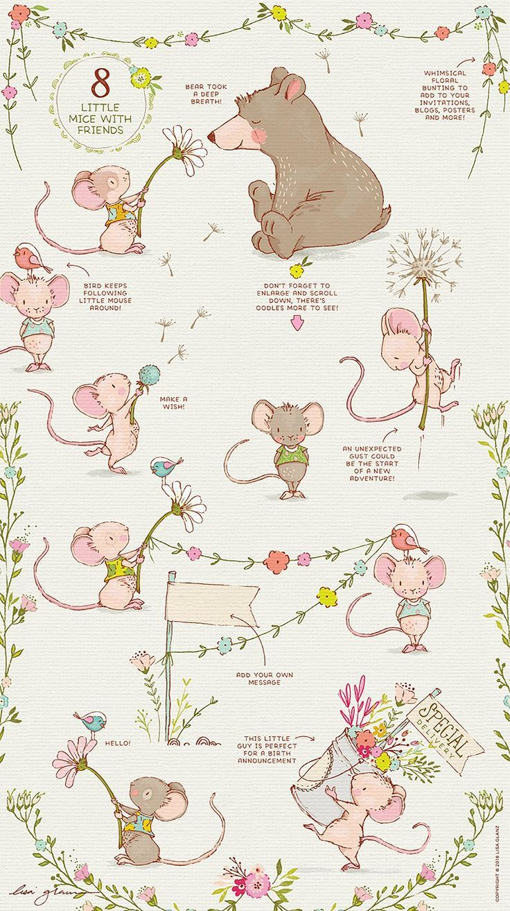 Adorable Graphics To Create Beautiful Spring Illustrations With Spring Illustration Baby Art Character Design