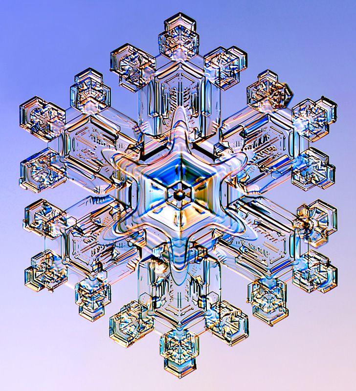 Snowflake Slideshow- Nature's symmetry
