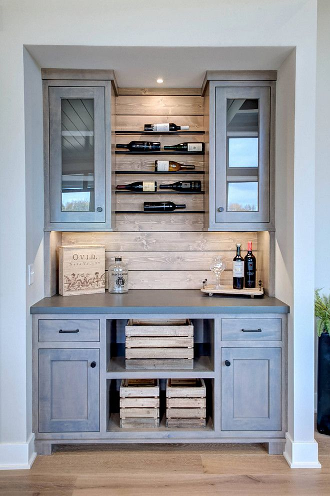 Driftwood kitchen bar - farmhouse - sources on Home Bunch blog today