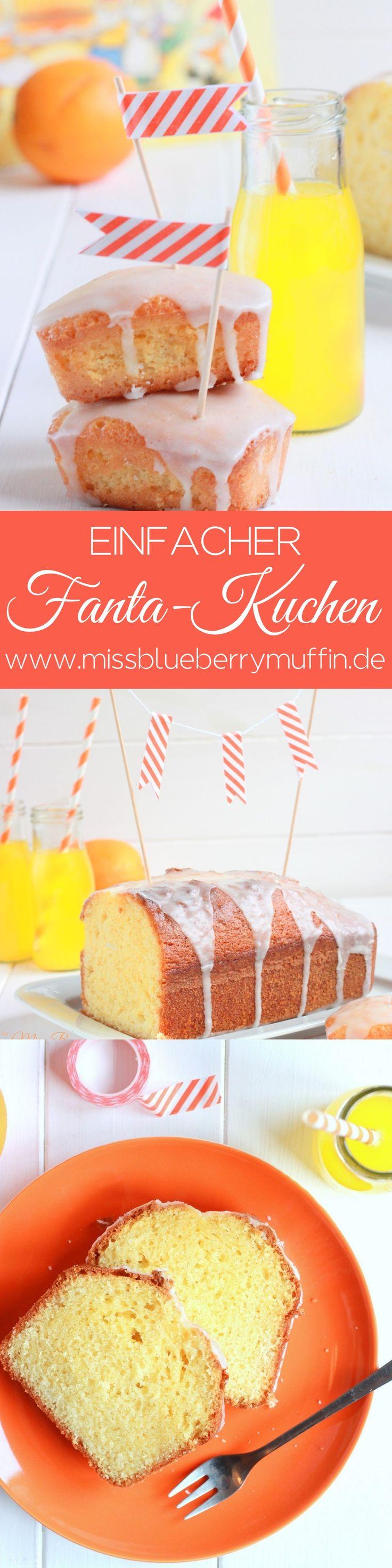 Backen mit Kindern: Einfacher Fanta Kuchen // Fanta Cake // Limo Kuchen <3