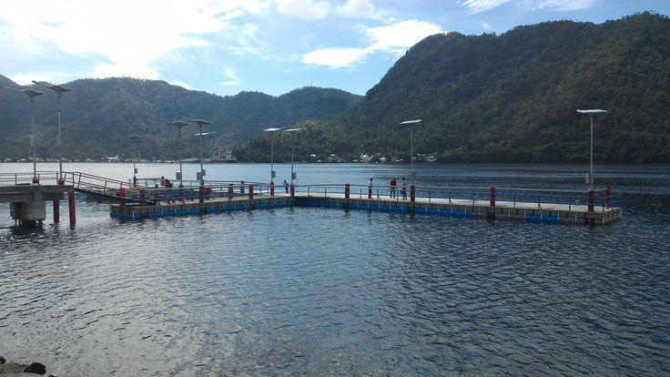 Dermaga Apung Natuna - Pulau Sangihe - Sulawesi Utara