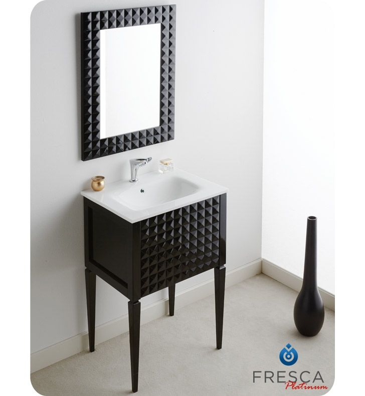 fresca black gloss modern bathroom vanity decorplanetcom